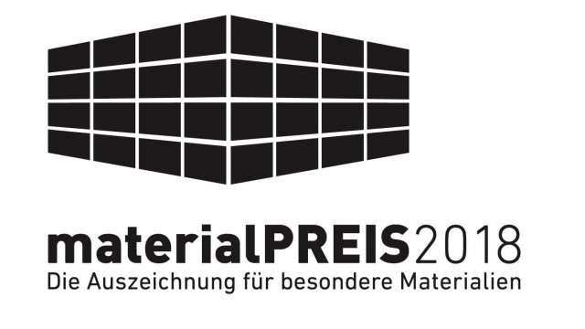 materialPREIS 2018 für FINETT DIMENSION