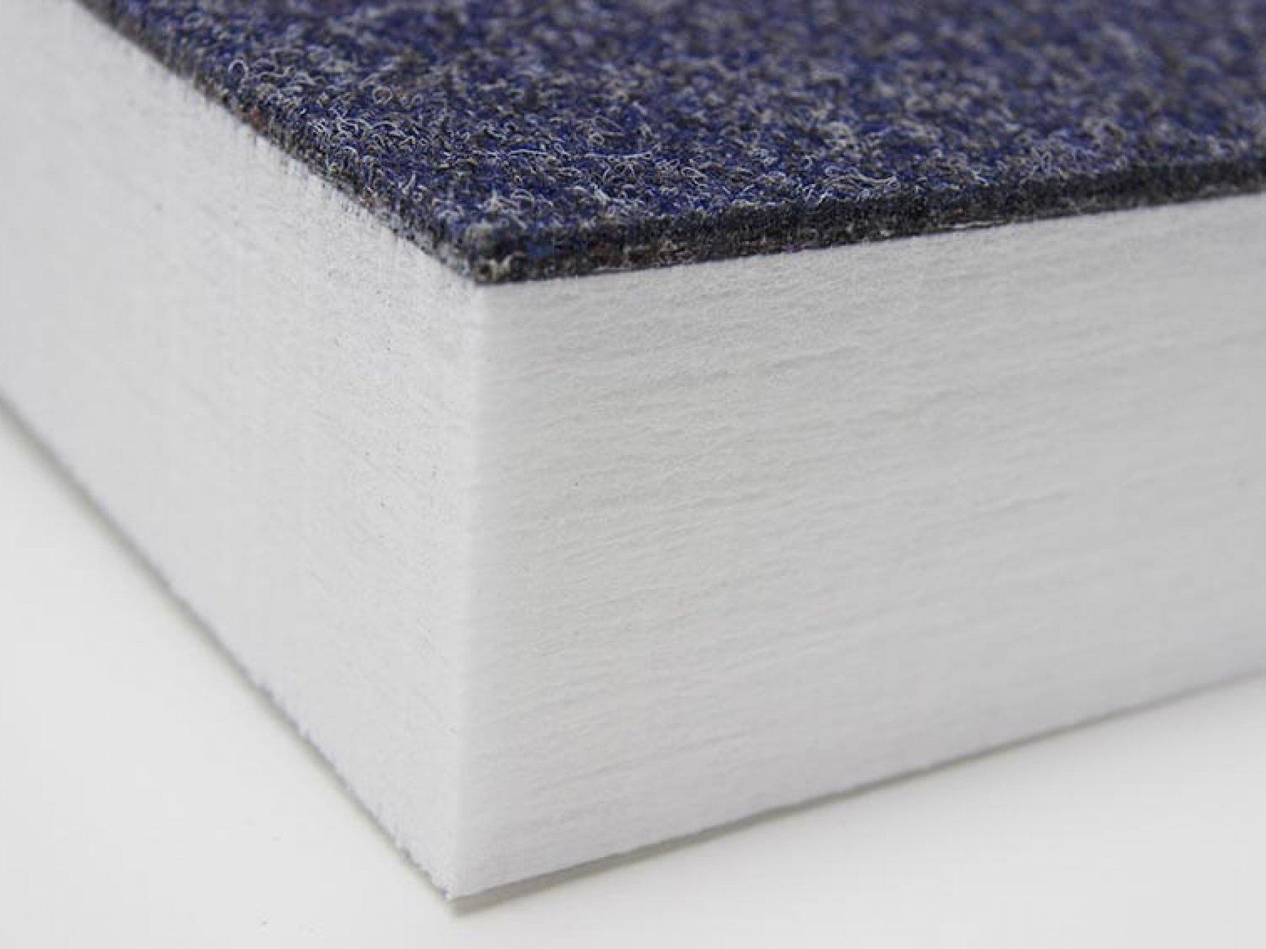 FINETT ACOUSTICS 80 - Nadelvlies + Polyestervlies 80 mm