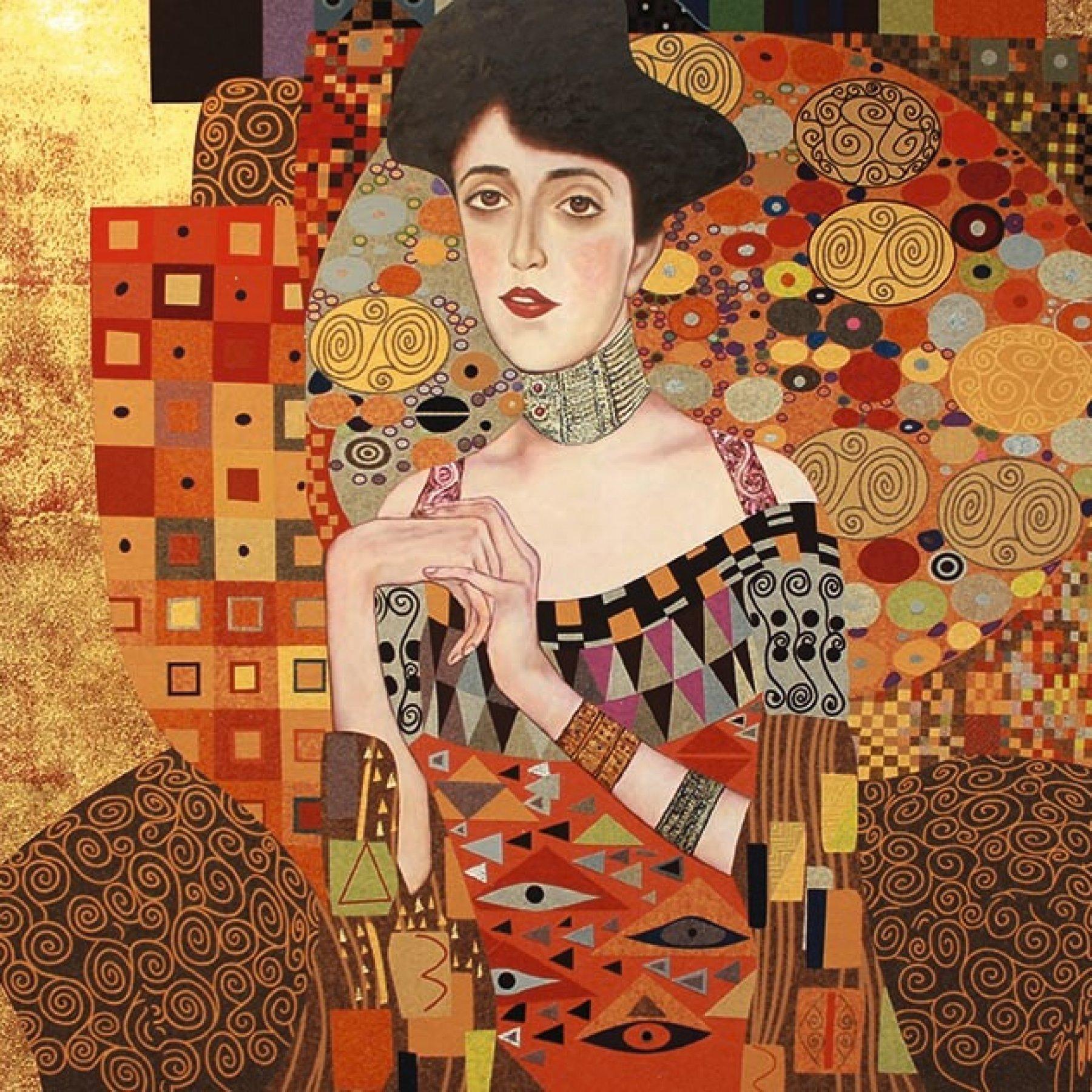 Adele Bloch-Baur I (Die Goldene Adele) | Gustav Klimt
