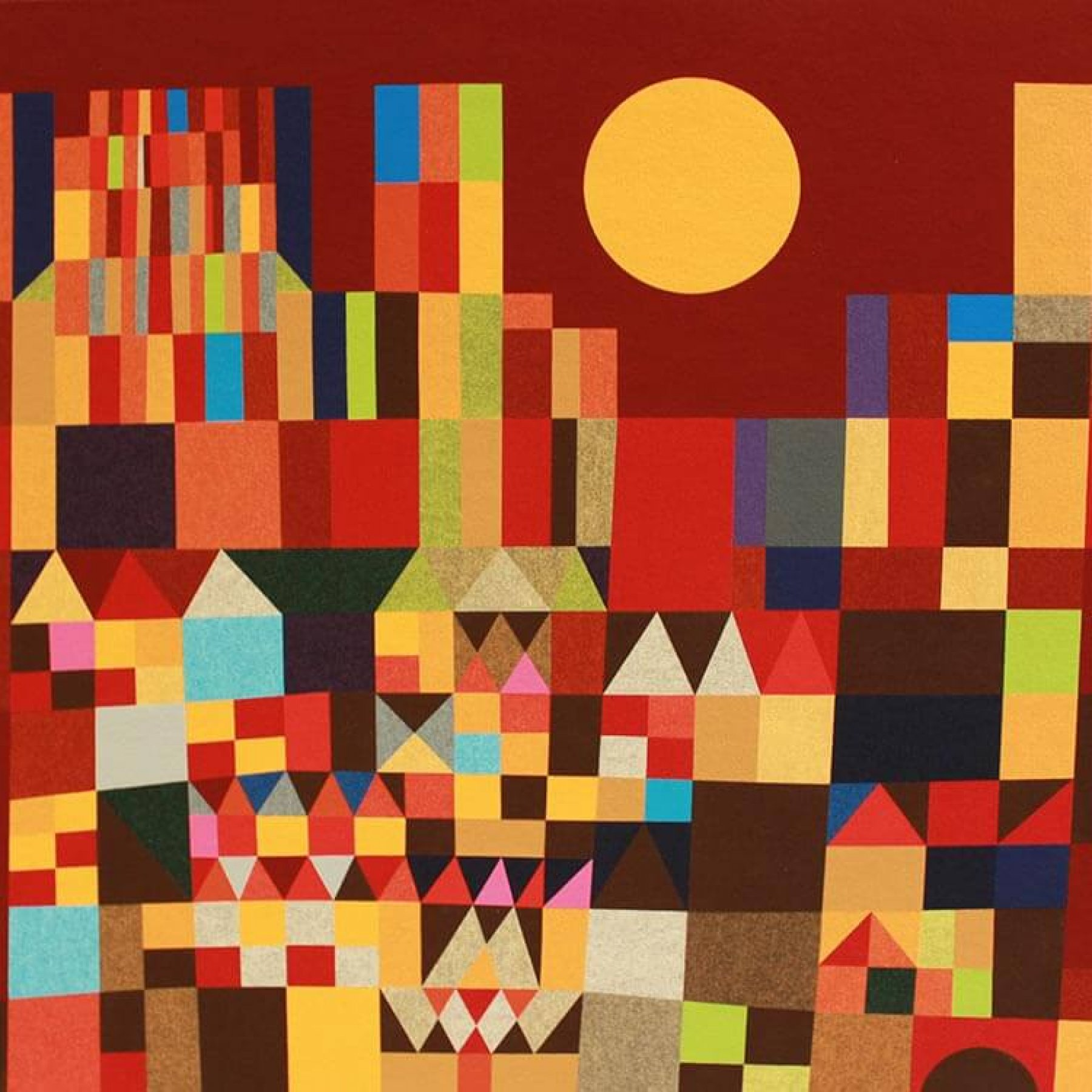 Burg und Sonne | Paul Klee