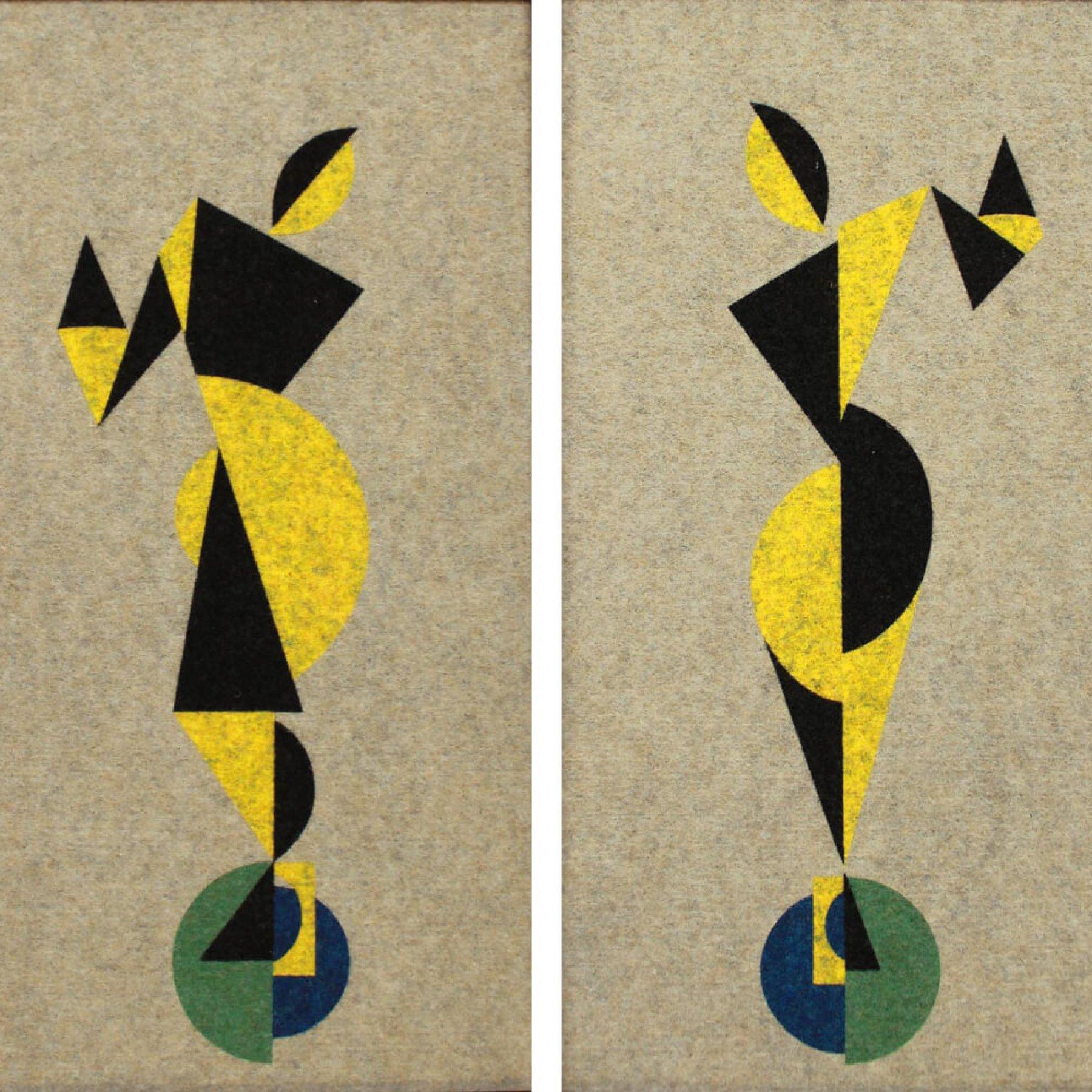 Dancers | Theo van Doesburg