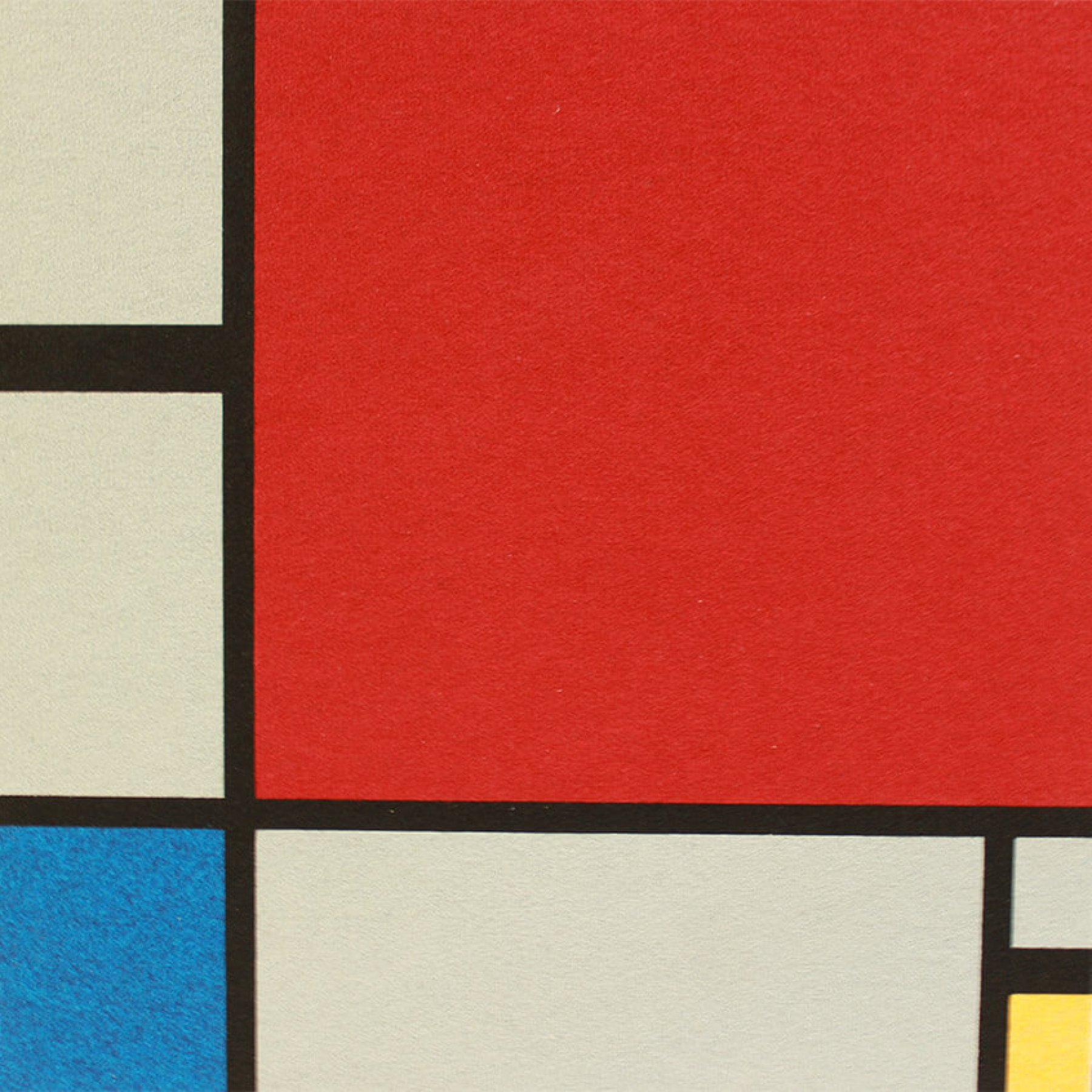 Komposition in Rot, Blau, Gelb | Piet Mondrian