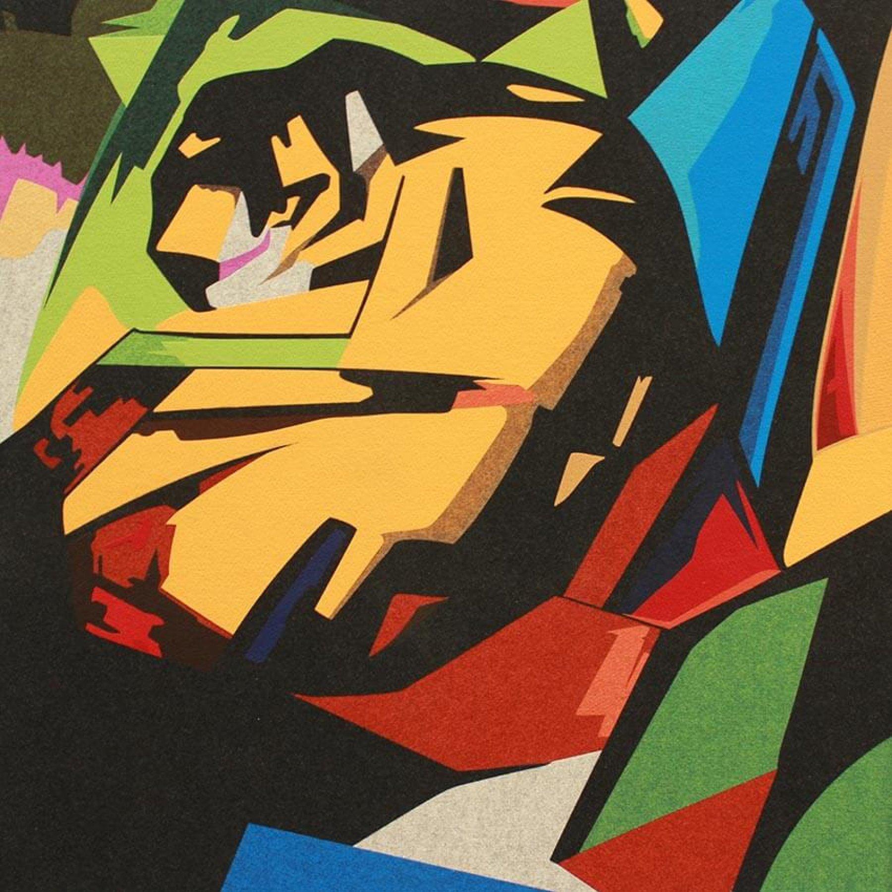 Der Tiger | Franz Marc