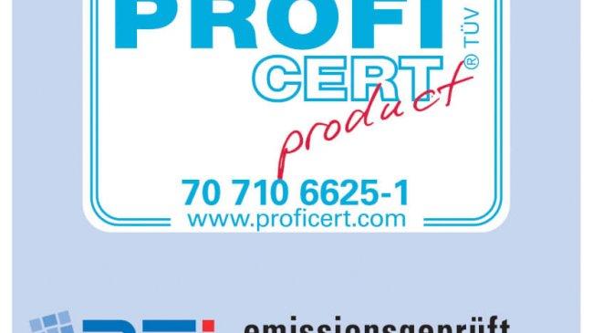 TÜV PROFICERT-product Interior PREMIUM